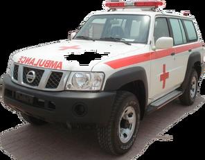 καινούριο ασθενοφόρο NISSAN Patrol 4.0 XE AT
