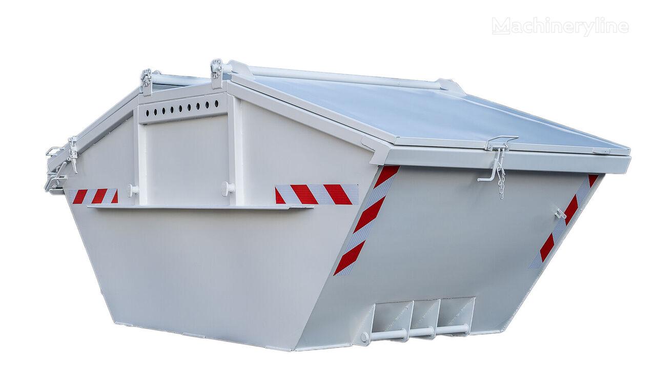 καινούριο κάδοι οικοδομών Absetzmulde Absetzcontainer 5cbm-12cbm mit klappe und Stahldecke