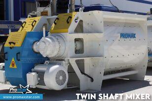 καινούριο αναμεικτήρας σκυροδέματος PROMAX  2 m3 /3 m3 TWIN SHAFT MIXER