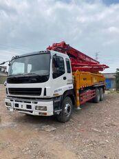 αντλία σκυροδέματος SANY 2011 renovated 37m on ISUZU 6*4 truck κατά ανταλλακτικό