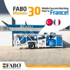 καινούριο εργοστάσιο σκυροδέματος FABO MINIMIX-30M3/H MINI CENTRALE A BETON MOBILE