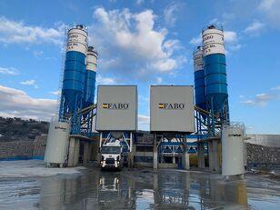 καινούριο εργοστάσιο σκυροδέματος FABO POWERMIX-200 STATIONARY CONCRETE BATCHING PLANT