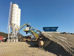 καινούριο εργοστάσιο σκυροδέματος PROMAX Mobile Concrete Batching Plant PROMAX M60-SNG(60m³/h)