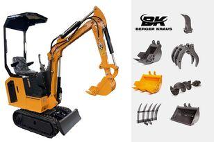 καινούριο μίνι εκσκαφέας BERGER KRAUS Mini Excavator BK800BS torsion arm with FULL equipment