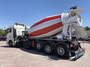 καινούρια μπετονιέρα ALIM mixer semi trailer concrete mixer semi-trailer