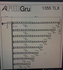 οικοδομικός γερανός (πυργογερανός) FMGru TLX 1355