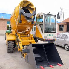 καινούριο τροχοφόρος εκσκαφέας LUZUN selfloading concrete mixer